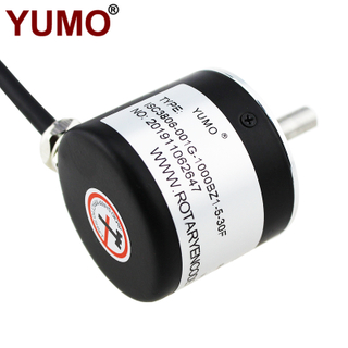 ISC3806 Push Pull Output Small Rotary Optical Encoder