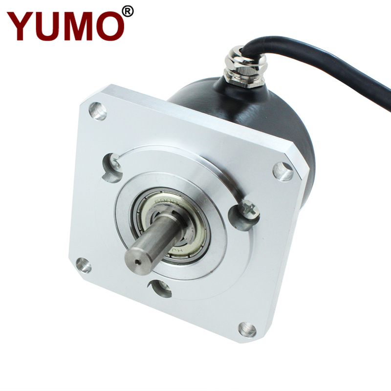 ISL5809 Numerical Control Machine Square Flange Rotary Encoder