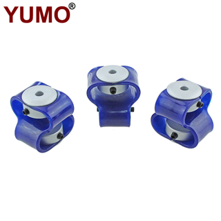 LS-D-D40L50 Plastic Couplings 8 Shape Shaft Encoder Coupling
