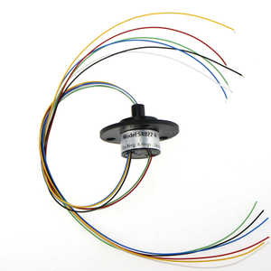 Capsule Slip Ring OD 22mm 6 Circuits 2A Electrical Contacts with CE,ROHS Certificated
