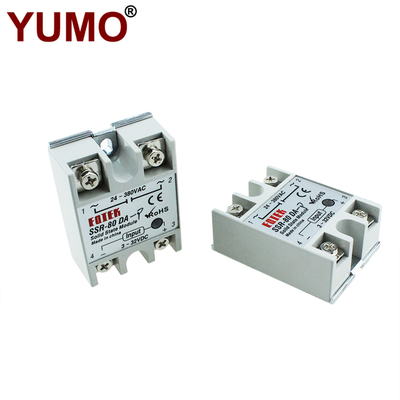 SSR-80DA-P Non-Zero Crossing Type Single Phase Ssr Relay