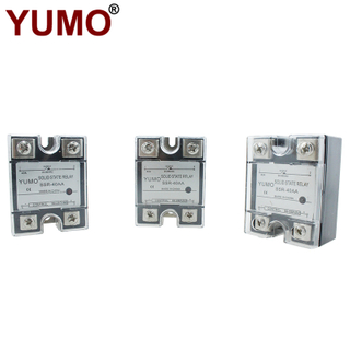 SSR-40AA AC-AC Control Mode 40A Single Phase Solid State Relay