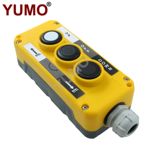 LAY5-EPB3 Industrial Crane Remote Electrical Control Box Push Button