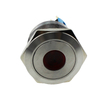 JS22F-11/D/12V/S 22mm Diameter RED Stainless Steel Waterproof Metal Push Button
