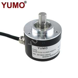 YUMO 50mm Line Drive Optical Shaft Incremental Rotary Encoder