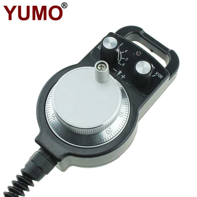 ISMM1274 100ppr Hand Wheel Encoder Manual Pulse Generator for Cnc Machine MPG
