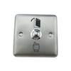 86 Type Stainless Steel Access Control Switch Panel Self-resetting Metal Waterproof Switch