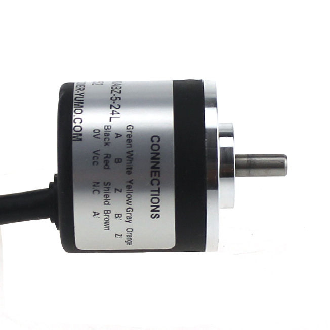 ISC2504 Outer diameter 30mm Solid Shaft Incremental Rotary Encoder