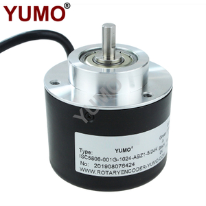 Hot Sale 6mm Shaft Diameter 1024ppr Line Drive Output Solid Shaft Rotary Encoder