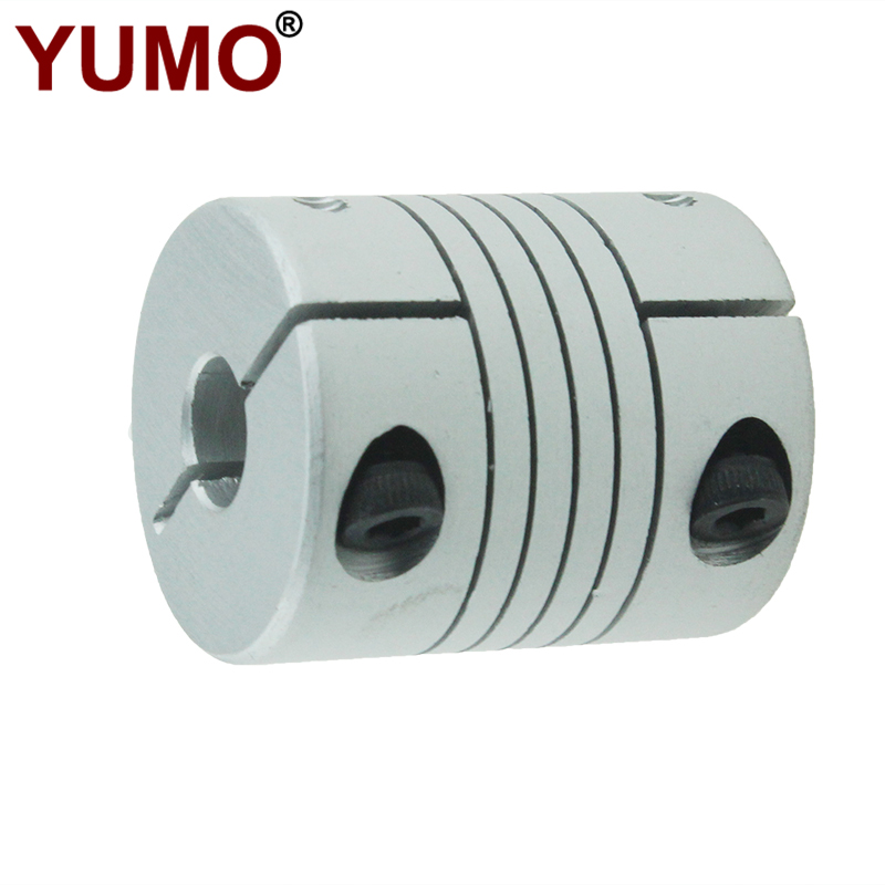 LR-B-D25L30 8mm Diameter Shaft Encoder Hold Type Aluminum Flexible Coupling