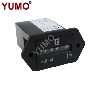 SYS-1 Digital AC110V Mechanical Hour Meter Counter
