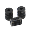 YUMO LR2 series electric motor shaft flexible plastic quick rubber coupling