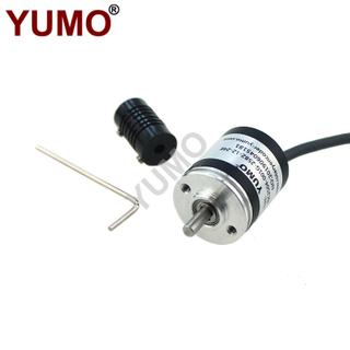 Hot Sale 4mm Voltage Output Solid Shaft Incremental Rotary Encoder