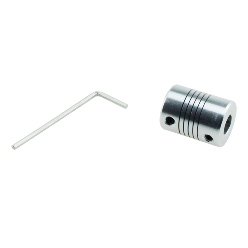 LR Series 8mm Diameter Top Thread Type Aluminium Flexible Encoder Coupling