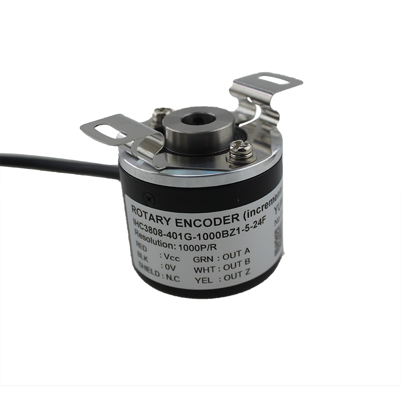 IHC3808 High Reliability Long Life Hollow Shaft Incremental Rotary Encoder
