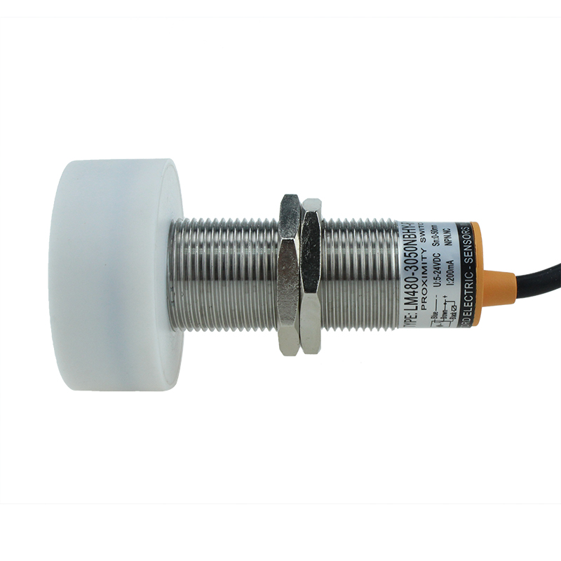 LM480-3050NBHY-R Non Flush Type Normally Close 3core Silicon Wire Inductive Sensor