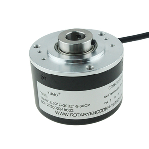 IHA6012 ID12mm Hollow Shaft Encoder Incremental Rotary Encoder Hollow with 2M Cable
