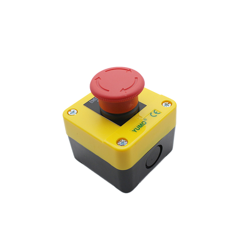 Emergency Stop Push Button Switch Control Box